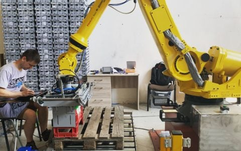 Programing Fanuc robot